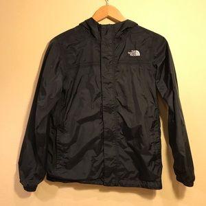Boys North Face rain jacket size large